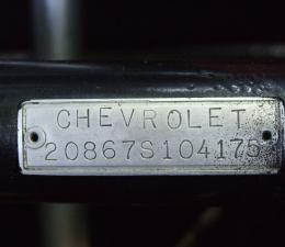 1962 Chevrolet Corvette Included Items & Identification