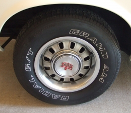 1969 Ford T-5 Wheels & Tires