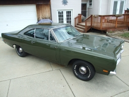 1969 Plymouth Road Runner Exterior