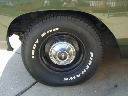 1969 Plymouth Road Runner Wheels and Tires
