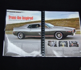 1973 Javelin Identification & Included Items