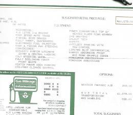 1996 Jaguar Documents