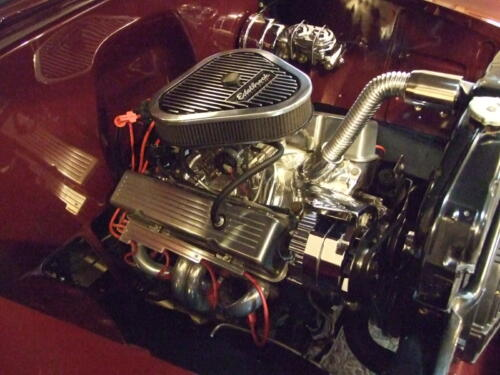 1952 Chevrolet Delivery Engine and Transmisson