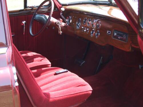 1952 Chevrolet Delivery Interior