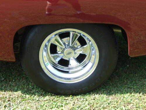 1952 Chevrolet Delivery Tires and Wheels